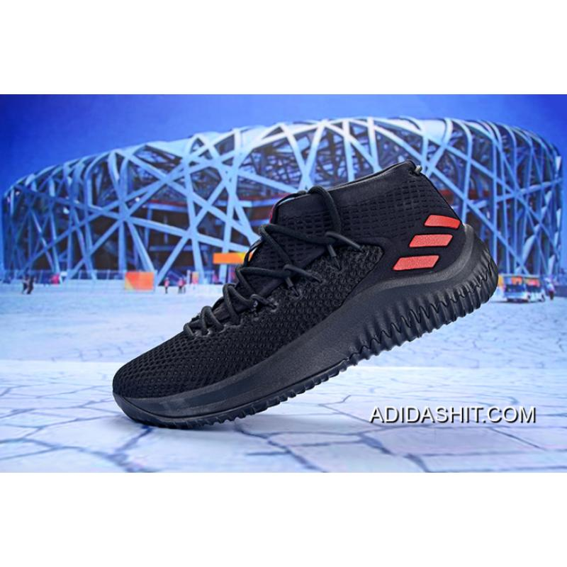 Adidas Dame 4 Black Red Top Deals