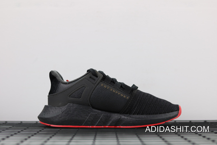 Best Adidas EQT Support Future Boost Core Black Red