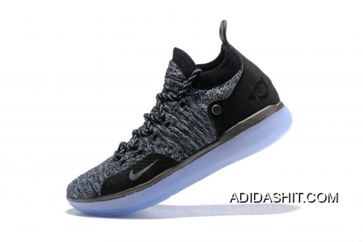 """New Release Nike KD 11 EP """"Oreo"""" Black Grey Kevin Durant's"""